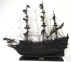 Flying Dutchman Model Ship in Pirate of the Caribbean movie