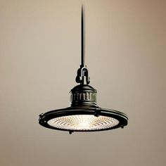 Kichler Sayre Collection Olde Bronze Pendant Light - for over the island/penninsula