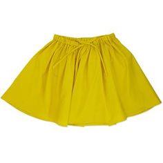 lottie skirt at Neige in yellow