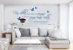 Adesivi murali - Adesivo murale - Fai della tua vita un sogno...
