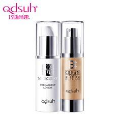 Qdsuh Pre-makeup Lotion+BB Blemish Balm Cosmetic Skin Care Base Primer Beauty Makeup Natural Oil Control Foundation Concealer