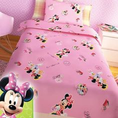 Baby Room, Comforters, Minnie Mouse, Disney, House Design, Blanket, Bed, Furniture, Home Decor