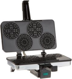 NEW CucinaPro 220 03 Piccolo Pizzelle Baker Waffle Sandwich Toaster Maker Grill >>> Check this awesome product by going to the link at the image. Pizzelle Maker, Pizzelle Cookies, Pizzelle Recipe, Waffle Cookies, Sandwich Toaster, Waffle Sandwich, Waffle Cone Maker, Italian Cookies, Italian Desserts