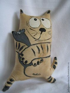 Ambrosial Make a Stuffed Animal Ideas. Fantasting Make a Stuffed Animal Ideas. Cat Crafts, Kids Crafts, Fabric Animals, Fabric Toys, Paper Toys, Cat Quilt, Cat Pillow, Cat Doll, Sewing Dolls