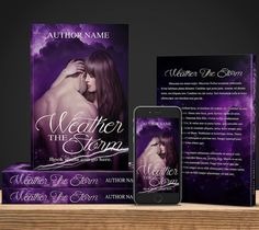 Weather The Storm - $60 for full book wrap ebook cover and mockup!  #bookcovers #indiebooks #custombookcover #custombook #ebooks #ebookcoverdesign #ebookcover #graphicdesigner #ilovebooks  #bookcoversforsale #bookstagram #writers #imwritingabook #indieauthor #indiewriter #photomanipulation #photoedits #authorsofinstagram #authorlife #art #indieauthors #romancenovel