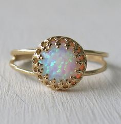 Hey, I found this really awesome Etsy listing at https://www.etsy.com/listing/183650052/opal-ring-white-opal-ring-gold-ring-gold