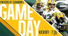 Packers Game Day Graphic
