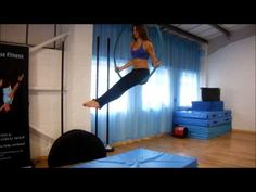 Pole and aerial hoop drops & rolls - YouTube