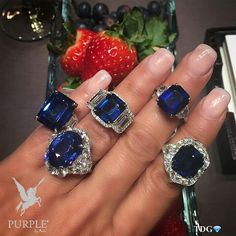 Another perfect addition to your style these magnificent sapphire rings by…
