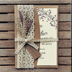 Tinkerbell – Istanbul Hochzeitseinladung – 2019 – Lace Diy – Invitation Ideas for 2020 Wedding Invitation Trends, Country Wedding Invitations, Rustic Invitations, Wedding Stationery, Handmade Wedding Invitations, Invitation Ideas, Invitation Templates, Tinkerbell, Wedding Cards