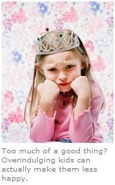 Overindulged Children- Are you overindulging your children? Find out if your child is getting too much of a good thing and what to do about it #parenting #goodheart