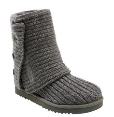These UGG knit cardy boots are like big comfy socks. So cozy! http://www.lrpvcgi.com $89.99 cheap ugg boots, ugg shoes 2015, fashion winter shoes