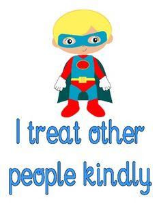 Superhero Classroom Rules 2.00