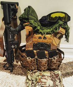 A few good conversations and searching later I have finally put together my first ever load out.  King Arms - M4 Tanker  Valken- VTAC Tango  Emersongear - JPC Vest  Emersongear - G3 Tactical Pants (kryptek Mandrake)  The @direwolves_airsoft_team are sponsored by: @valkensports @tactical_hostyle @nadoproducts @jkarmyshop @badlandspb #Valken #ValkenAirsoft #ValkenSports #valkensponsoreddirewolf #whateverittakes  Follow the Direwolves: @bacon_dw01 @sidewaze_dw07 @masterchief_dw87…