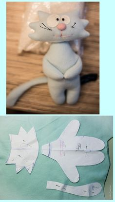 Amazing Home Sewing Crafts Ideas. Incredible Home Sewing Crafts Ideas. Sewing Toys, Sewing Crafts, Sewing Projects, Fabric Toys, Fabric Crafts, Cat Crafts, Kids Crafts, Sock Dolls, Felt Cat