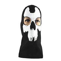 ลดอีกแล้ววว ถูกเหลือเชื่อ Call Duty Balaclava Ghost Skull Face Mask Biker Skateboard Cosplay คุณภาพดี ราคาถูก สั่งซื้อออนไลน์ได้