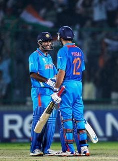 Mahendra Singh Dhoni and Yuvraj Singh Photos Photos: India v Netherlands: Group B - 2011 ICC World Cup Icc Cricket, Cricket Sport, Cricket Match, India India, Delhi India, Ms Dhoni Photos, World Cup Groups, India Cricket Team, Full Hd Pictures