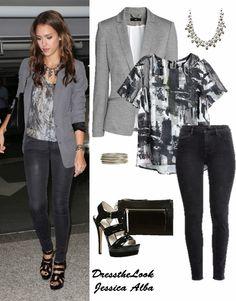 AMIGAS DO CLOSET: Dress the Look: Jessica Alba