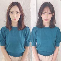 Japanese Hairstyle #Hair #Akiwarinda Japanese Hairstyle, Casual Hairstyles, I Am Awesome, Short Hair Styles, Hair Cuts, Ruffle Blouse, Pretty, Beauty, Women