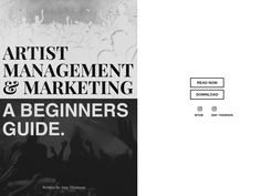 Free ebook 'Artist Management and Marketing: A Beginners Guide', written by Amy Thomson, the founder of ATM Artists and former manager of Swedish House Mafia. Vocal Lessons, Swedish House Mafia, Artist Management, Music Industry, Infographic, Career, Cards Against Humanity, Hacks, Tools