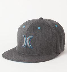 6fe1d58bf25 Hurley Colorbar Flex Fit Hat Flat Bill Hats