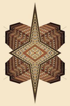 """Kaleidoscope Buildings: Memento pt.2 series"" | [Diamond Star] by Christian Ruhm"