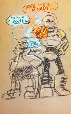 Think of Sans and Papyrus fighting alongside? THINK OF HOW BADASS THEY'D LOOK!!