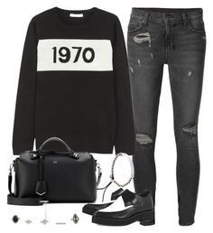 """Untitled #3194"" by plainly-marie ❤ liked on Polyvore featuring Ksubi, Bella Freud, Fendi, Helmut Lang and Michael Kors"