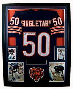 Mike Singletary Framed Jersey Signed JSA COA Autographed Chicago Bears Mister Mancave http://www.amazon.com/dp/B00JPYBXYO/ref=cm_sw_r_pi_dp_Zn.swb1FX7B63