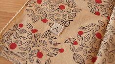 admi 木版ハンカチ・バンダナ Konoha - インテリア・キッチン雑貨・輸入雑貨・文具・動物雑貨・通販 セレクトショップ ディベルティーレ(Divertire)