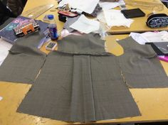 13: Weakness - due to a mistake in my patterns my jacket front was 7 1/2 inches shorter than the back.