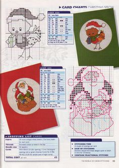 Gallery.ru / Фото #39 - The world of cross stitching 001 рождество 1997 - tymannost