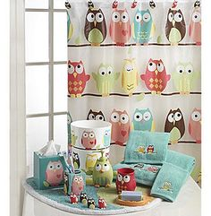 I So Want This For Our Bathroom Unfortunately The Boys Are Owl Bathroom Decorbathroom