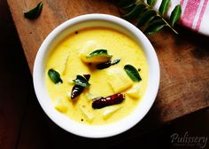Pulissery Recipe. Pulissery: A subtly spiced coconut-yoghurt curry.
