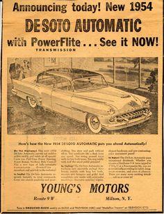Vintage Clippings: Newspaper Auto Advertising, Part III | Hemmings ...