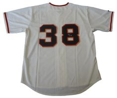 Brian Wilson San Francisco Giants Sewn Jersey