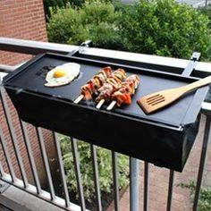 Barbacoa de Balcon   BBQ Grill: Amazon.es: Hogar