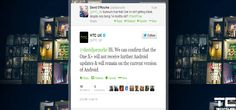 HTC says no more Android updates for One X & One X+
