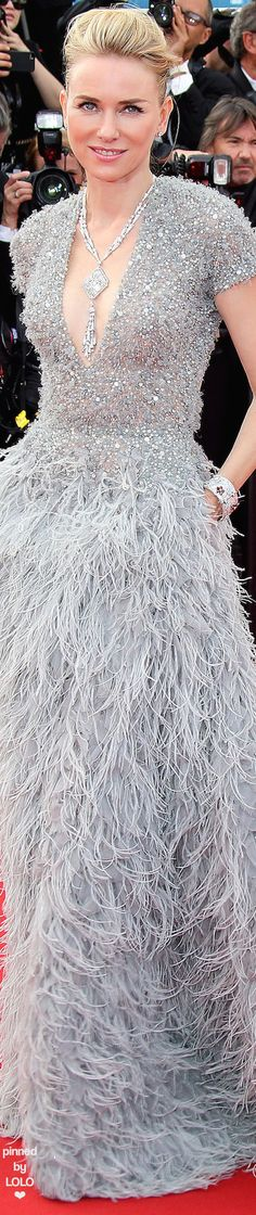 Naomi Watts in Elie Saab Couture | LOLO❤︎
