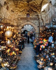 Here's a new photo from Egypt - and one of my favorites. We stopped here in the bazaar in Cairo to buy some lamps. This photo is actually a vertirama made from 4 vertically stacked photos then edited together with Aurora HDR! :) #aurorahdr# rcmemories #ca