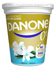 Coupons et Circulaires: .99¢ DANONE 0% 650g