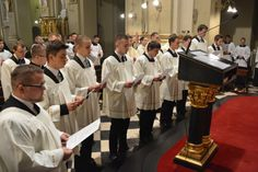 December 8 traditionally is a Vocation Day for Internal Seminary students in the Province of Poland of the Congregation of the Mission