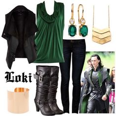 Awesome Loki outfit!!!