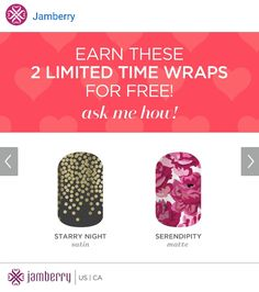 These beauties can be yours! Message me at www.lipstips.jamberrynails.net