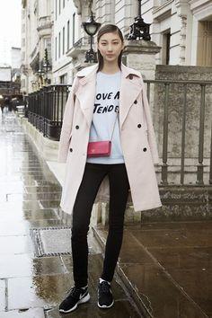Etrala London Blog London fashion week street style