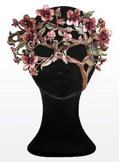Fashion Tips Videos Cherry Blossom Branch Leather Eye Mask.Fashion Tips Videos Cherry Blossom Branch Leather Eye Mask Maske Halloween, Halloween Karneval, Venetian Masquerade, Venetian Masks, Masquerade Masks, Masquerade Party Outfit, Kitsune Maske, Bijoux Wire Wrap, Mascarade Mask