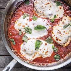 Skillet Chicken Parm - EatingWell.com