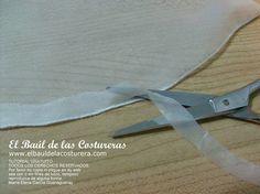 Dobladillo en telas finas con zigzag | EL BAÚL DE LAS COSTURERAS