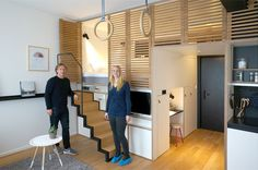 Zoku, Tiny Studio Apartment building, Amsterdam | http://www.godownsize.com/zoku-tiny-studio-apartment-amsterdam/