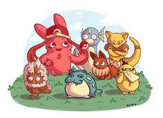 Et voilà la Team Pokémon de Shiito ! Et vous, ça serait quoi ? Here is the Pokemon Team of Shiito ! What would be yours ?